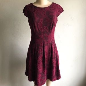 AB Studio | Women's Paisley Fitted Dress